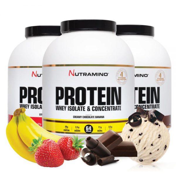 Nutramino Proteinpulver 1800g